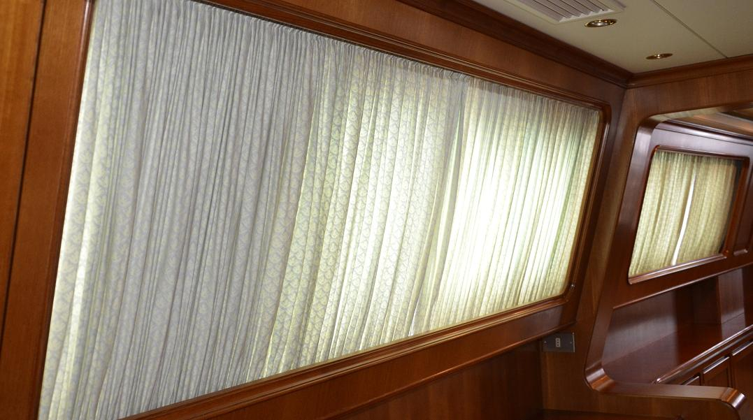 Drapery Cleaning For Yachts and Boats in South Florida - Mega Yacht